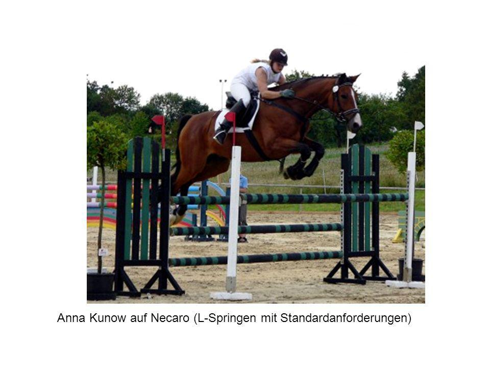 Anna Kunow auf Necaro (L-Springen mit Standardanforderungen)
