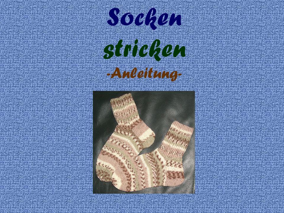 Socken Stricken Anleitung Ppt Video Online Herunterladen
