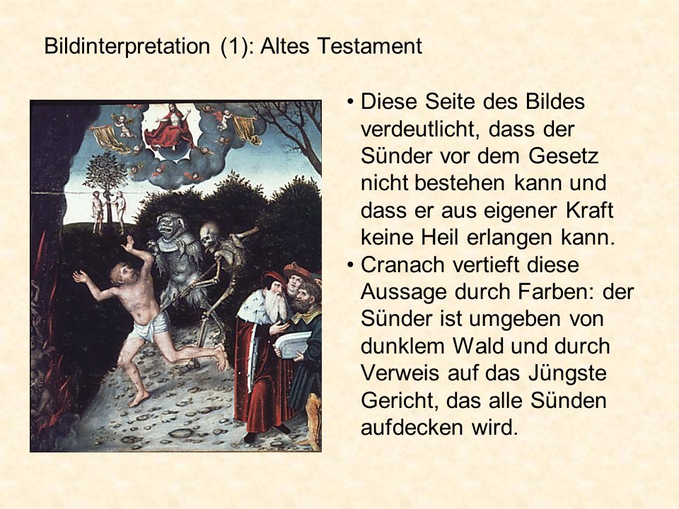 Bildinterpretation (1): Altes Testament