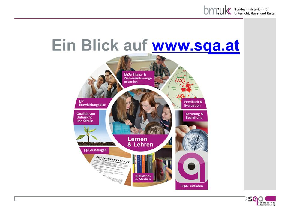 Ein Blick auf www.sqa.at