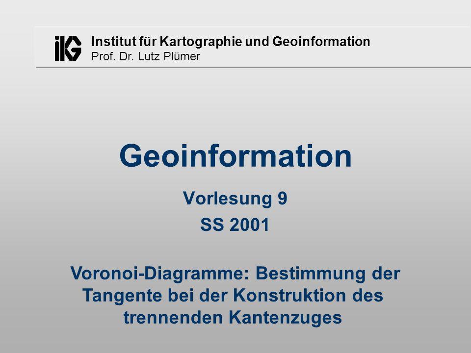Diskrete Mathe 9 Vorlesung 9 SS 2001