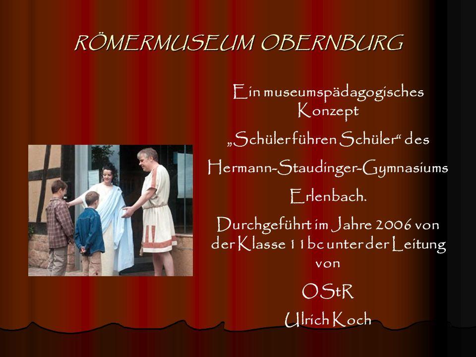 RÖMERMUSEUM OBERNBURG
