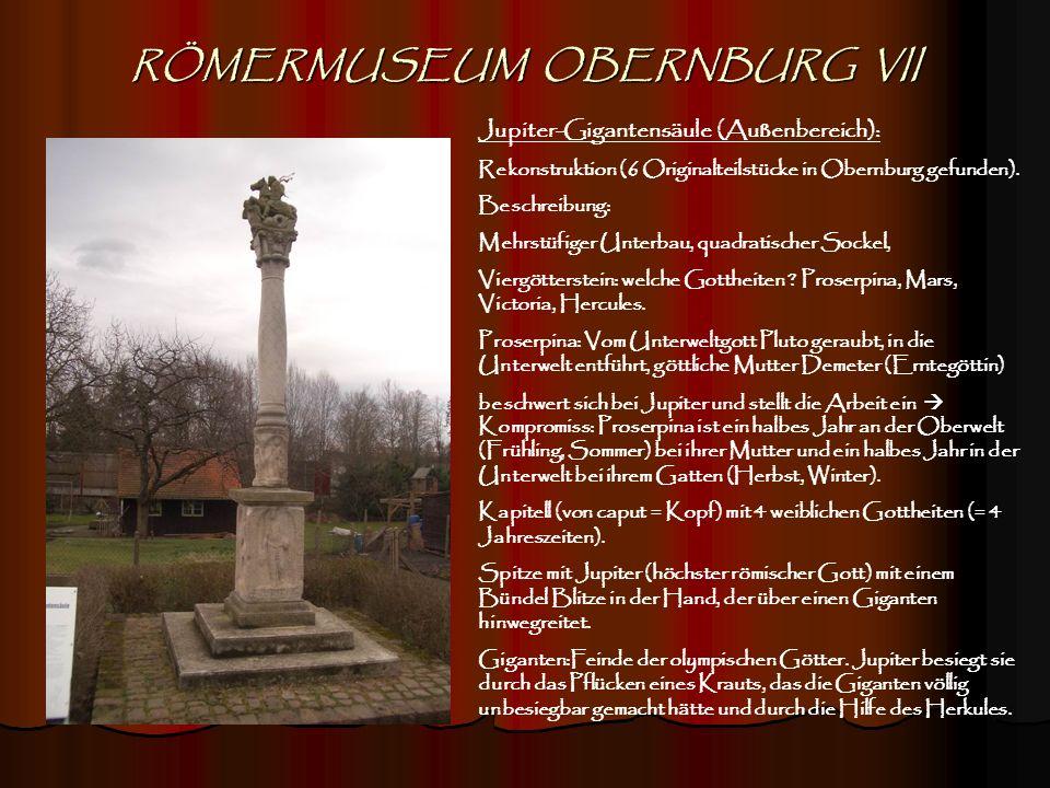 RÖMERMUSEUM OBERNBURG VII