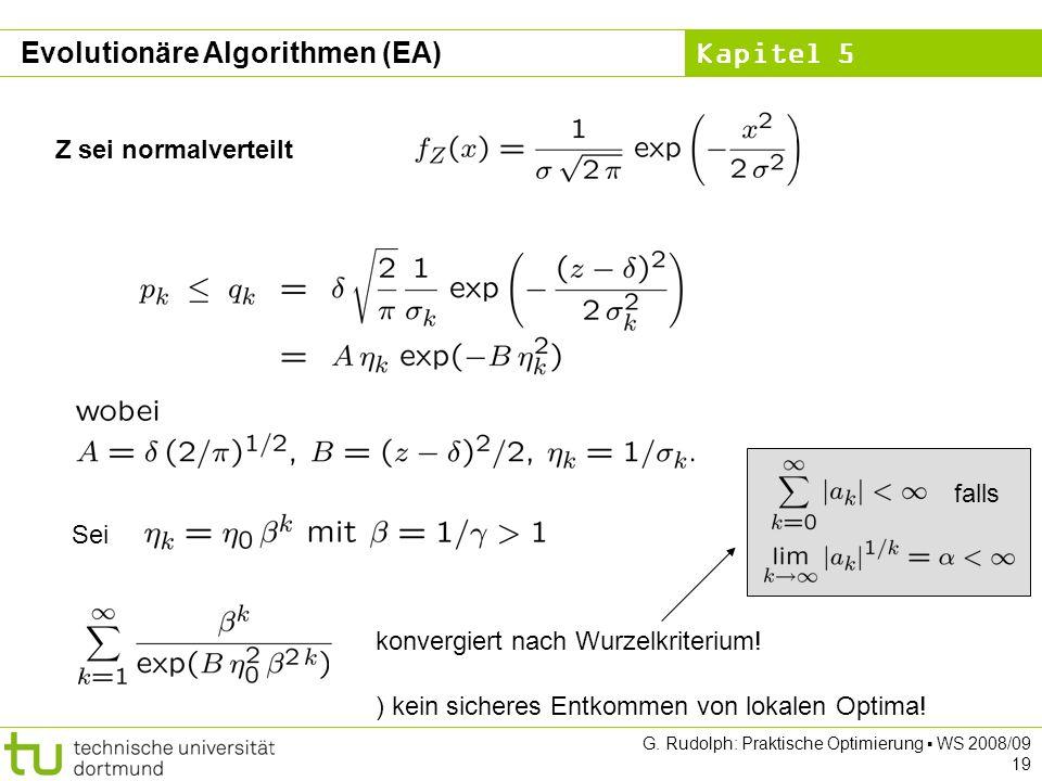 Evolutionäre Algorithmen (EA)