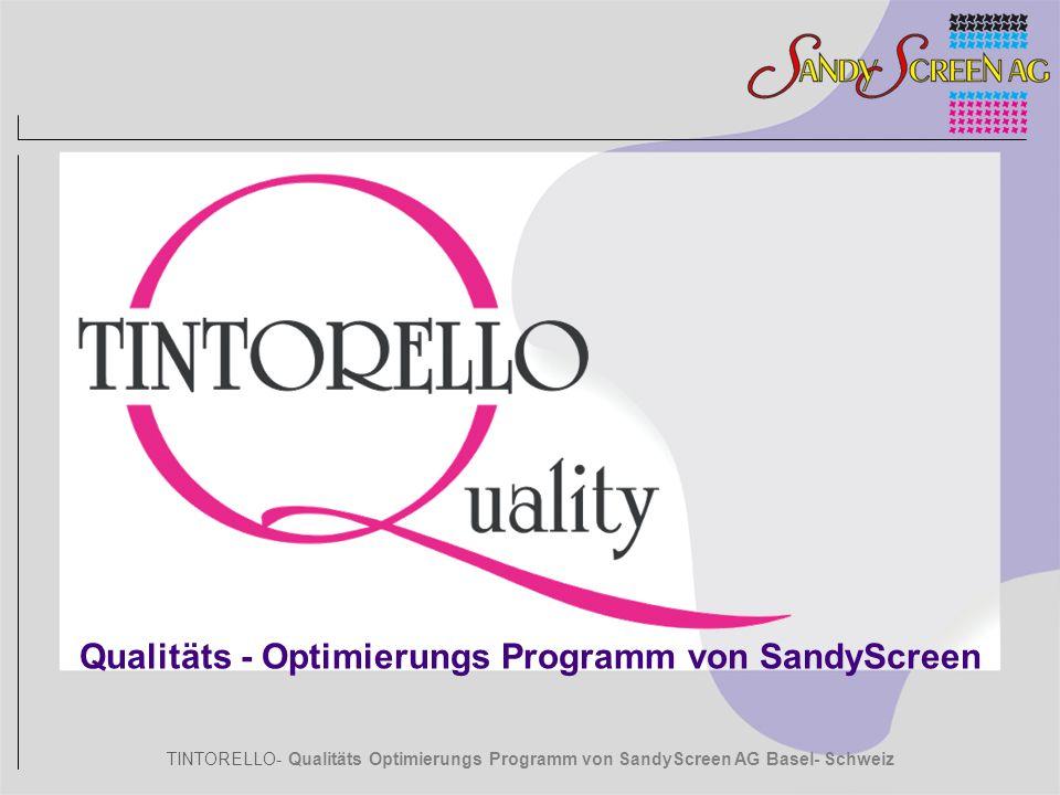 Qualitäts - Optimierungs Programm von SandyScreen