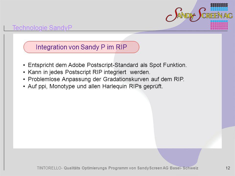 Integration von Sandy P im RIP