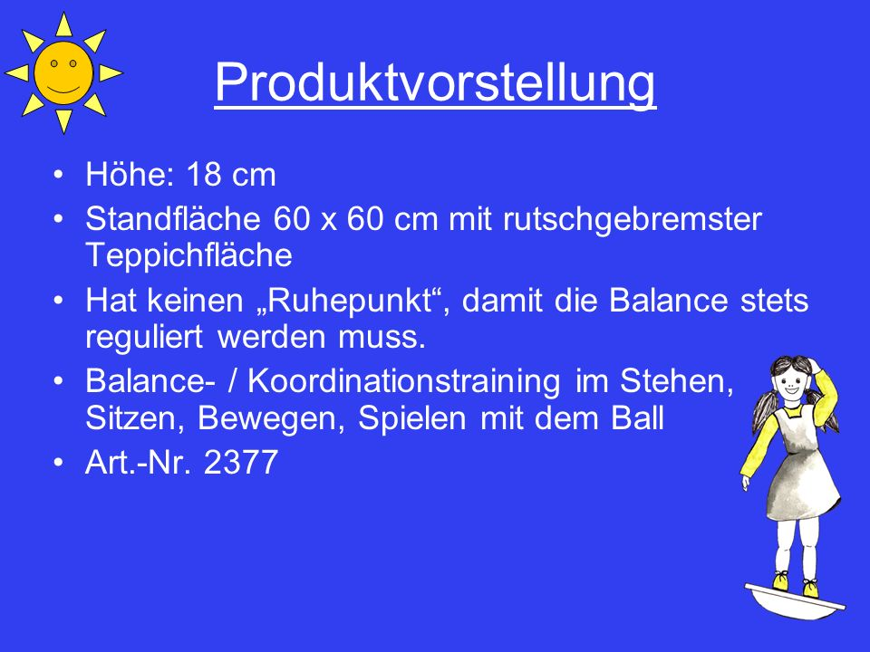 Produktvorstellung Höhe: 18 cm
