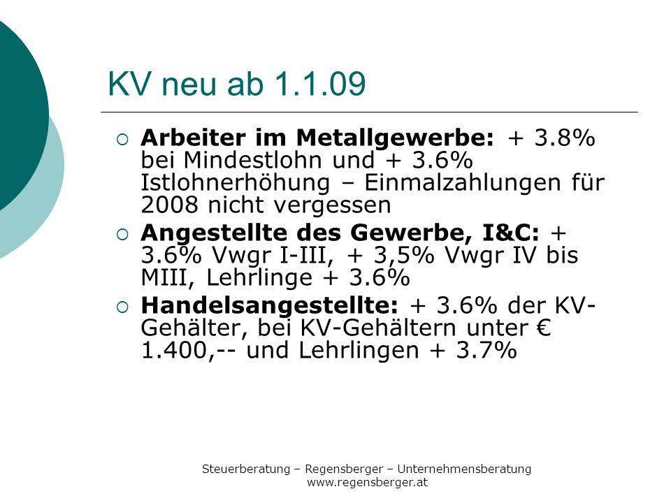 Steuerberatung – Regensberger – Unternehmensberatung