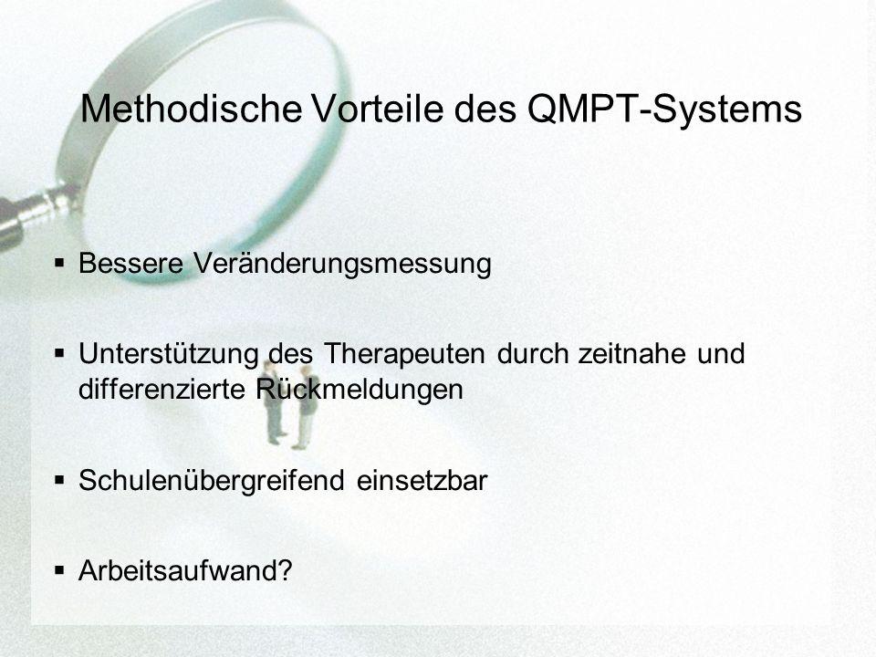 Methodische Vorteile des QMPT-Systems