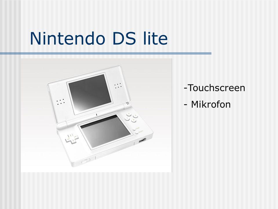 Nintendo DS lite Touchscreen Mikrofon