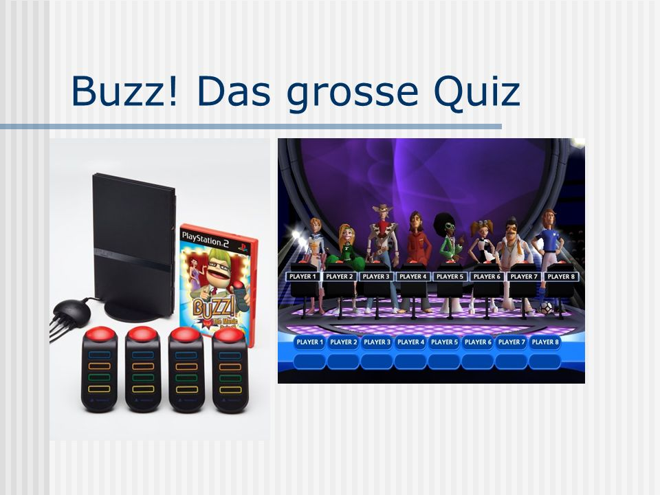 Buzz! Das grosse Quiz