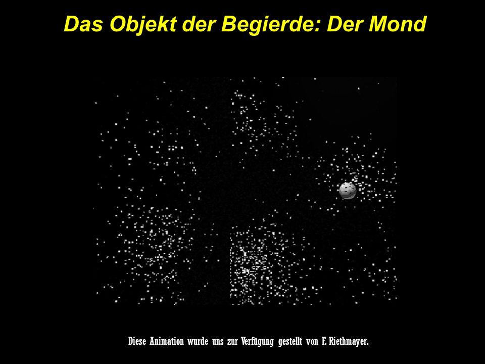 Das Objekt der Begierde: Der Mond