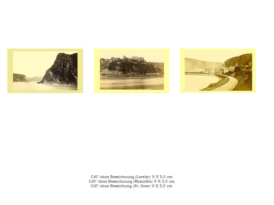 CdV ohne Bezeichnung (Loreley) 9 X 5,5 cm