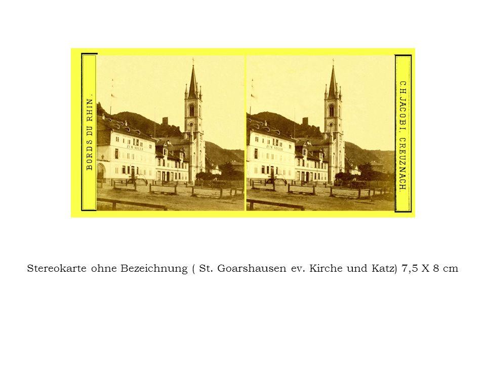 Stereokarte ohne Bezeichnung ( St. Goarshausen ev