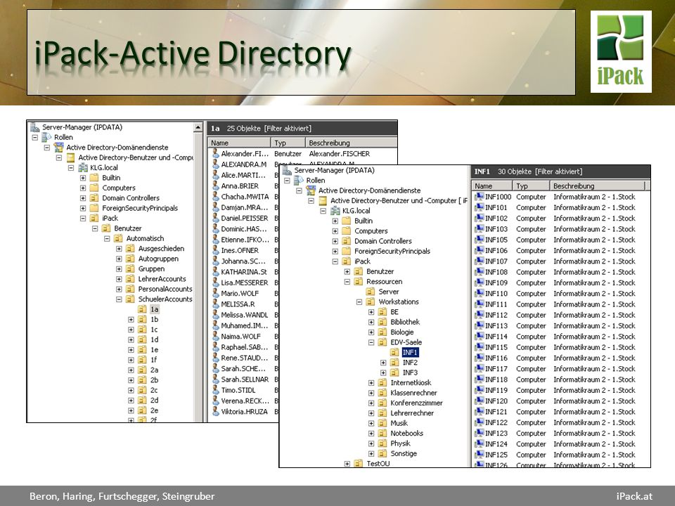 iPack-Active Directory