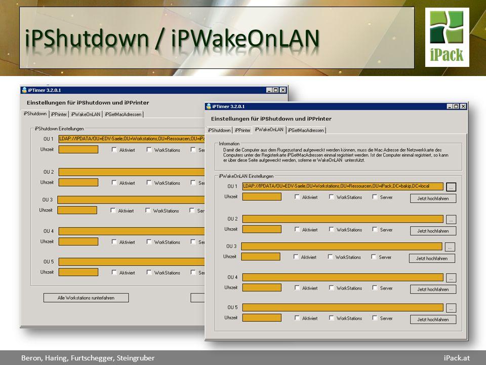 iPShutdown / iPWakeOnLAN