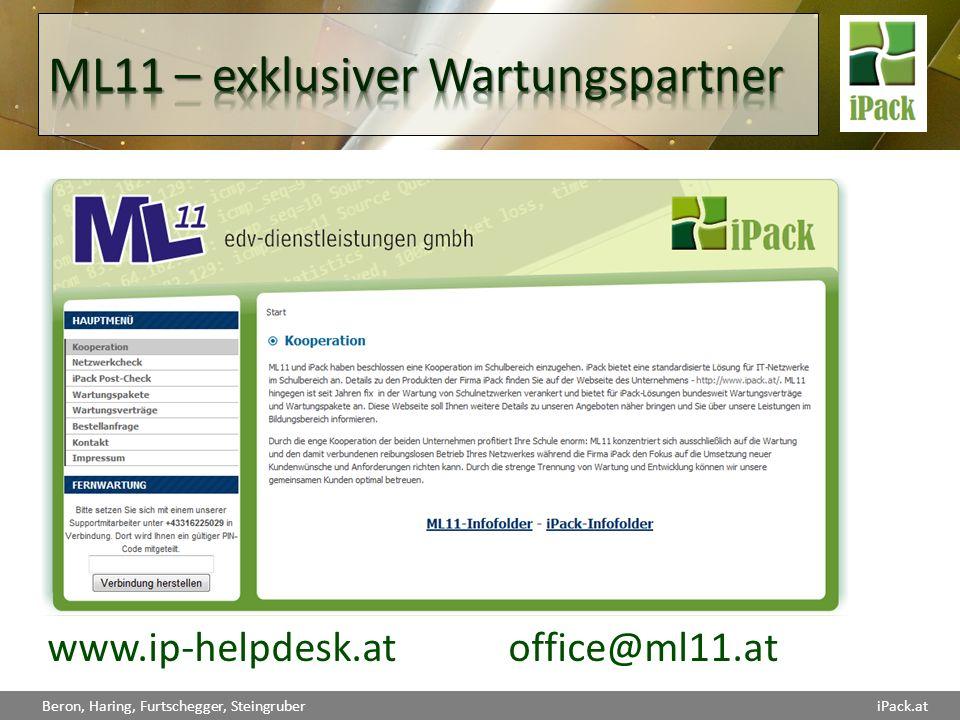 ML11 – exklusiver Wartungspartner