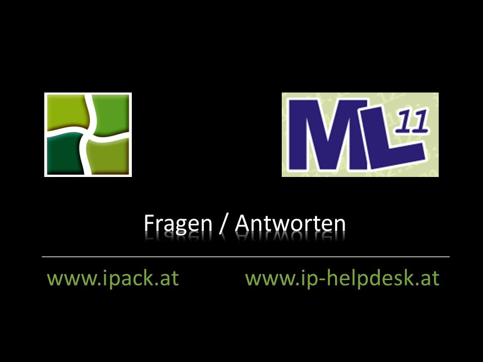 iPack: IT Dienstleistung & Wartung www.ipack.at www.ip-helpdesk.at