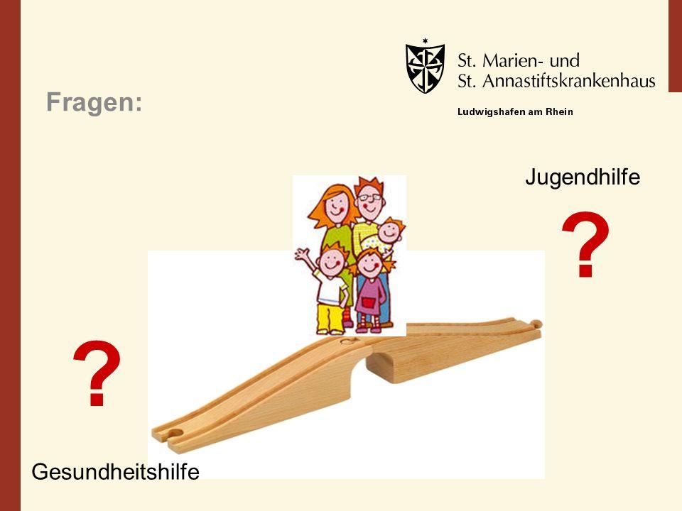 Fragen: Jugendhilfe Gesundheitshilfe