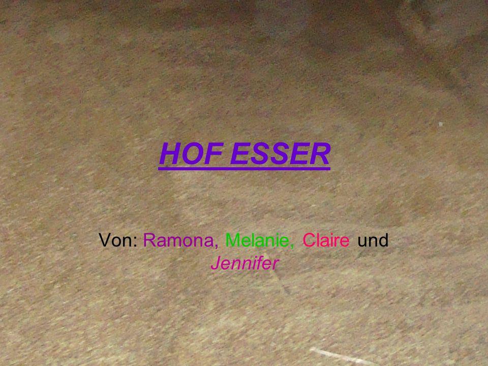Von: Ramona, Melanie, Claire und Jennifer