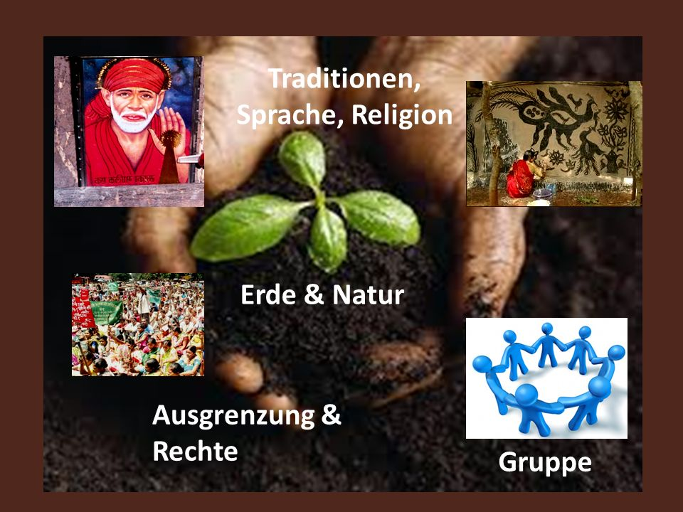 Traditionen, Sprache, Religion