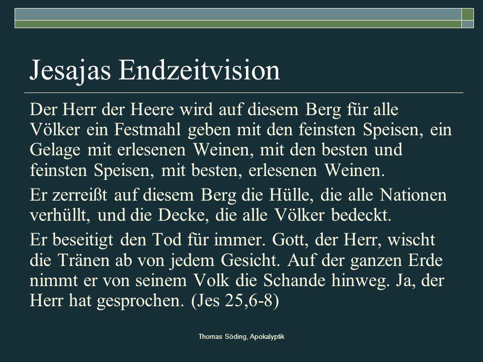Jesajas Endzeitvision