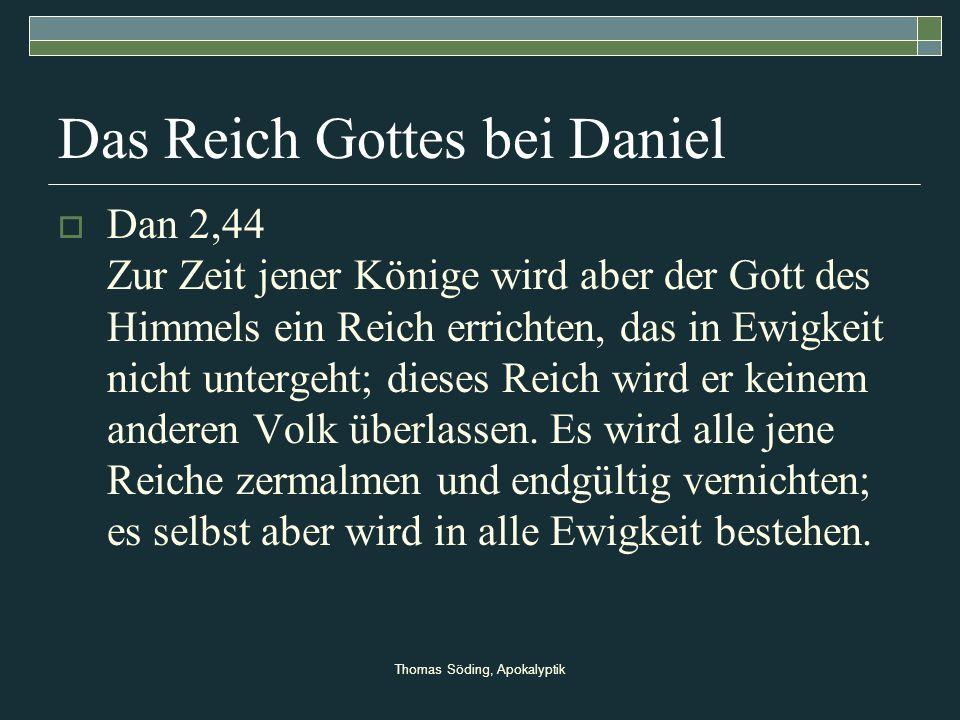 Das Reich Gottes bei Daniel