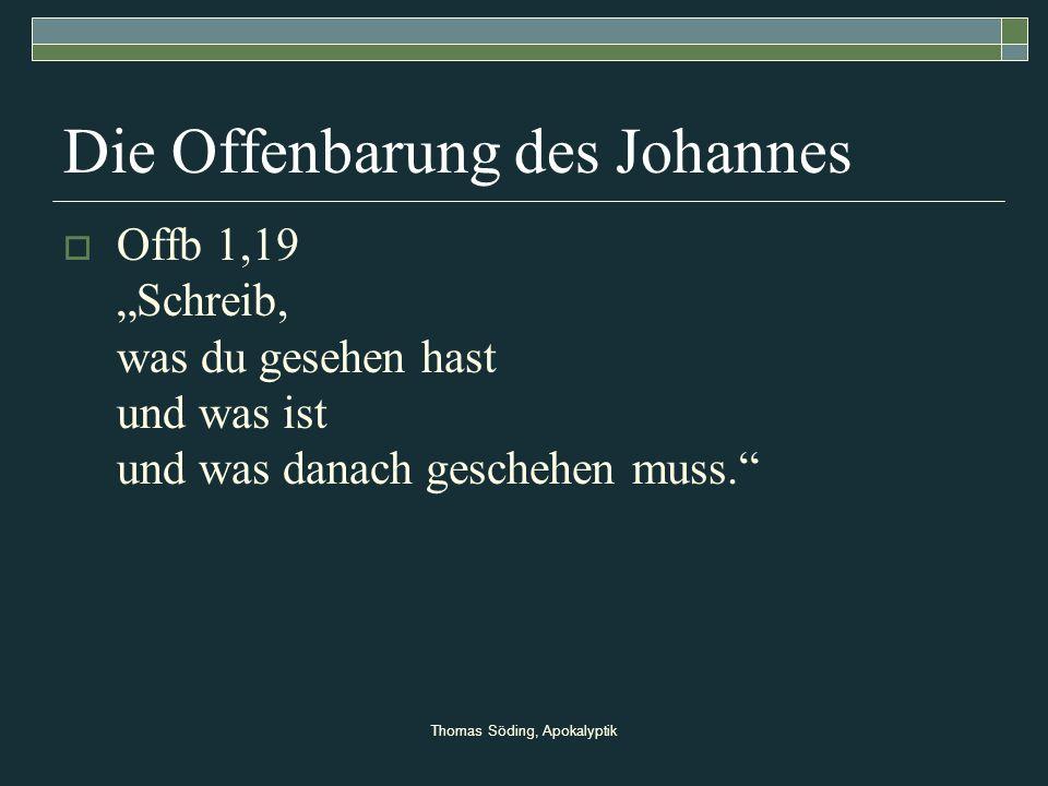 Die Offenbarung des Johannes