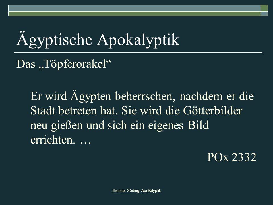 Ägyptische Apokalyptik