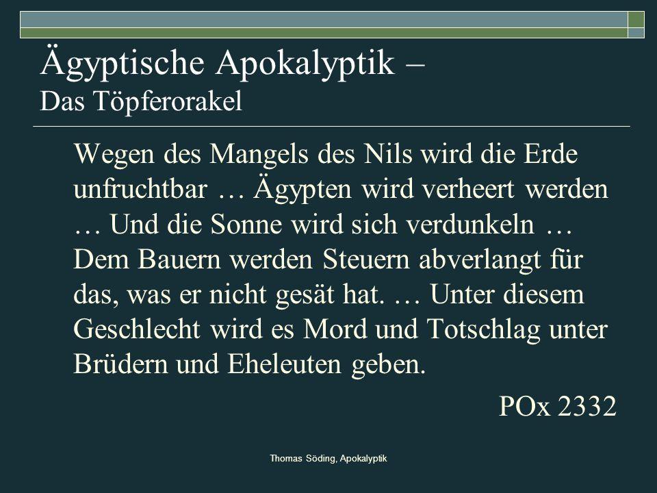 Ägyptische Apokalyptik – Das Töpferorakel