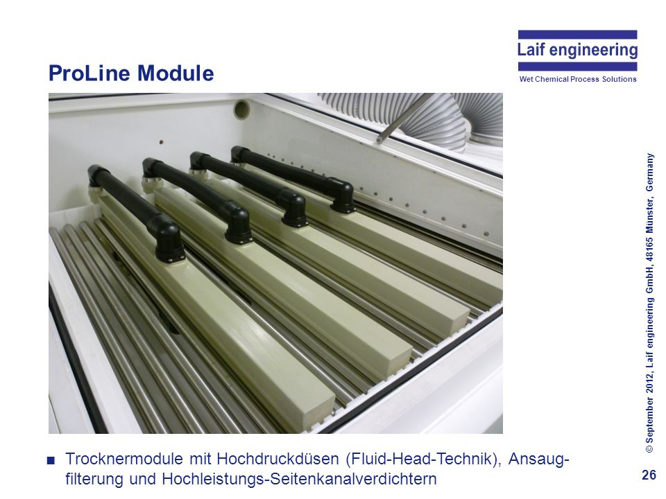 ProLine Module Photovoltaics