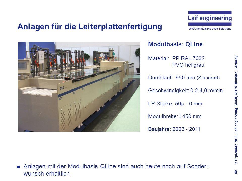 Anlagen für die Leiterplattenfertigung