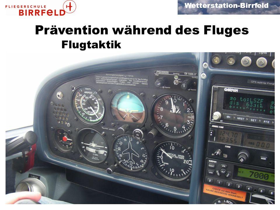 Prävention während des Fluges