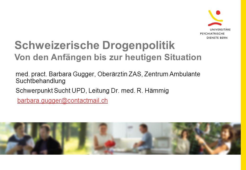 Schweizerische Drogenpolitik