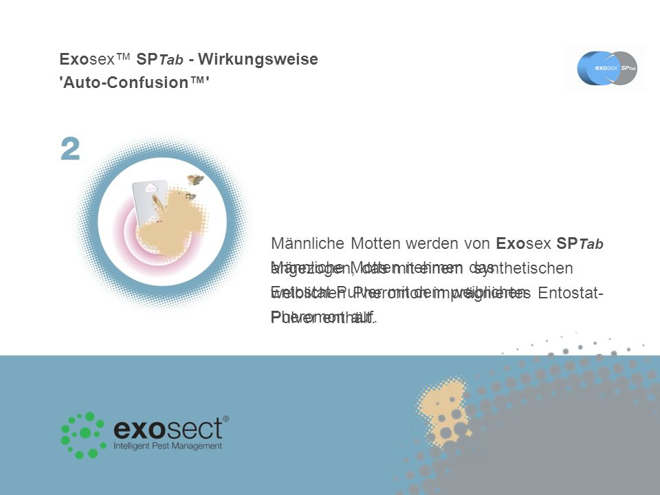 Exosex™ SPTab - Wirkungsweise Auto-Confusion™