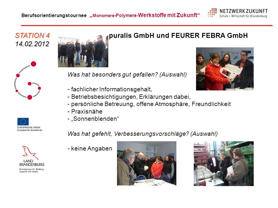 puralis GmbH und FEURER FEBRA GmbH