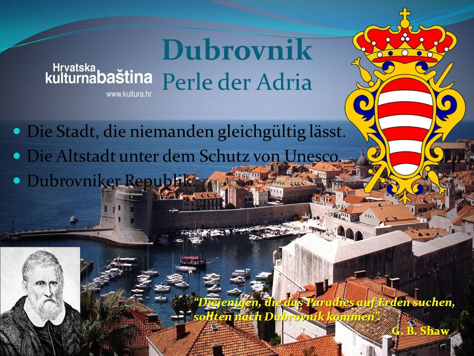 Dubrovnik Perle der Adria