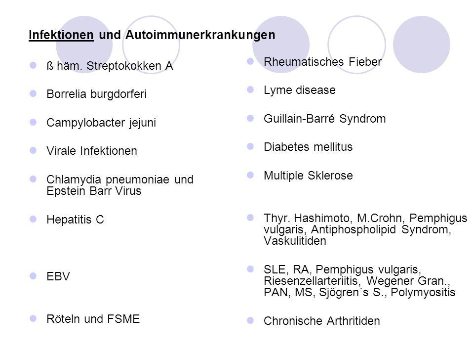 Infektionen und Autoimmunerkrankungen