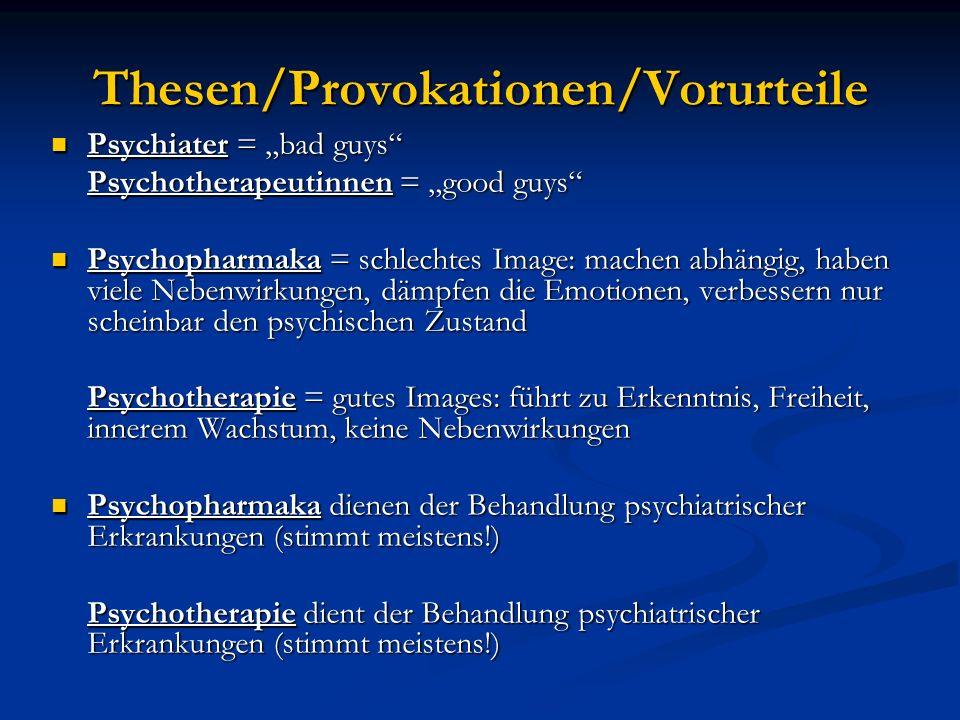 Thesen/Provokationen/Vorurteile