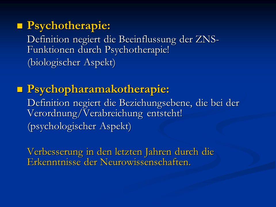 Psychopharamakotherapie: