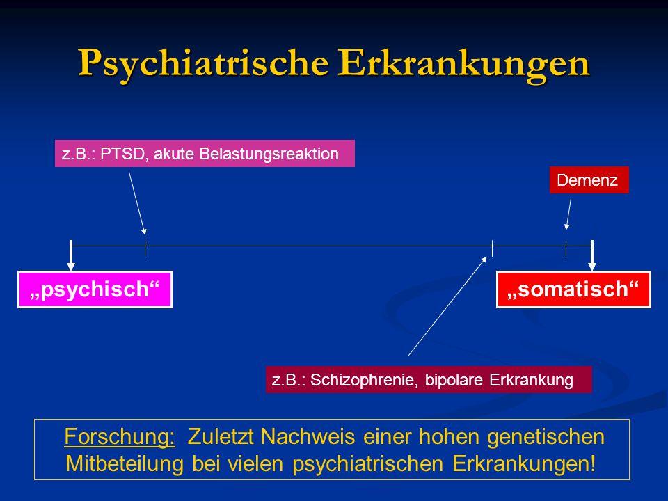 Psychiatrische Erkrankungen