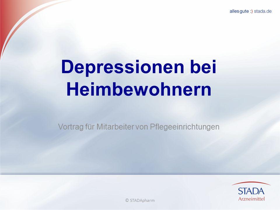 Depressionen bei Heimbewohnern