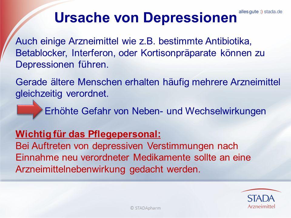 Ursache von Depressionen