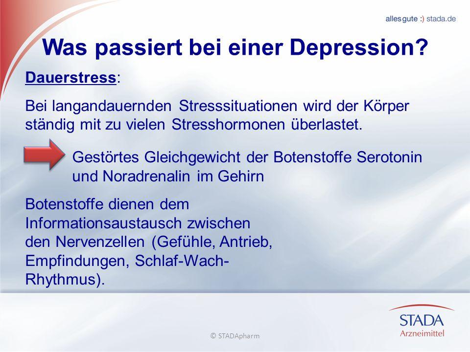 Was passiert bei einer Depression