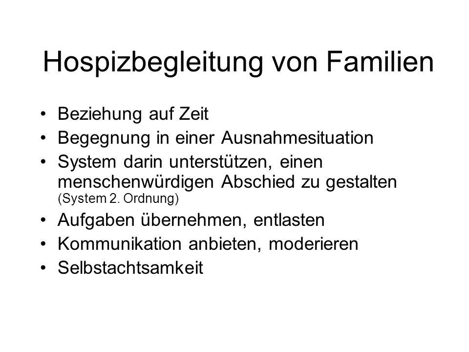 Hospizbegleitung von Familien