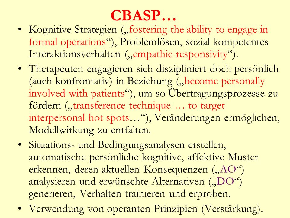 CBASP…