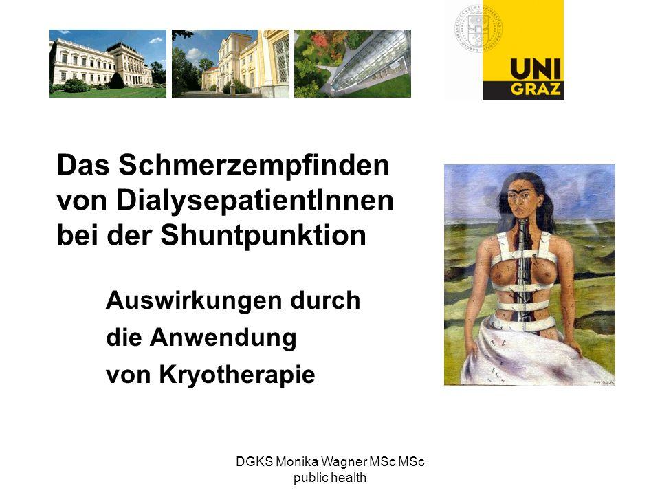 Das Schmerzempfinden von DialysepatientInnen bei der Shuntpunktion