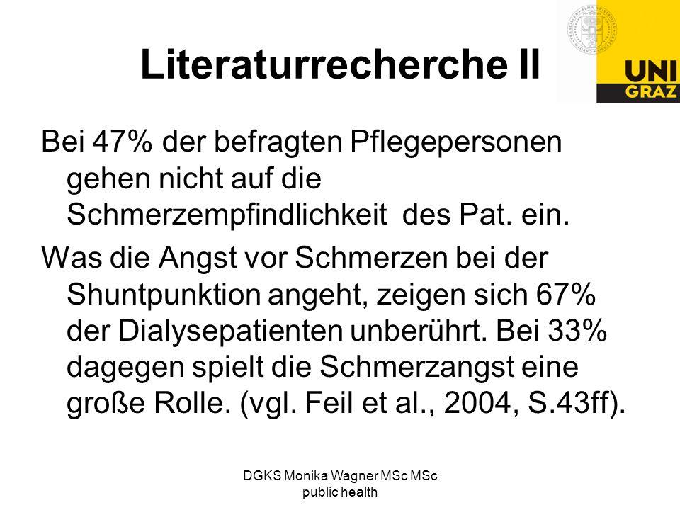 Literaturrecherche II