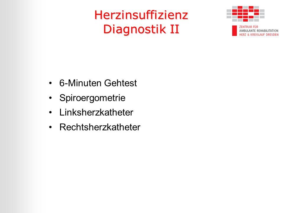 Herzinsuffizienz Diagnostik II