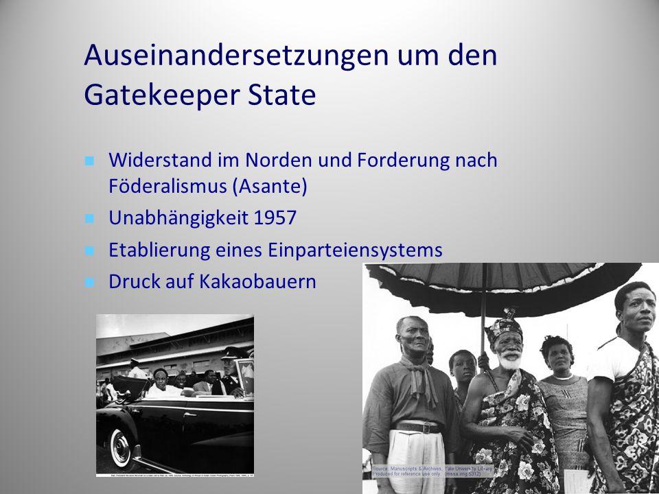Auseinandersetzungen um den Gatekeeper State